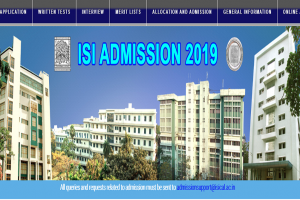ISI releases the schedule for admission process 2019-20 | Check more details here