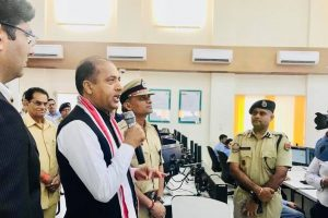 Jai Ram visits Command Control Centre in Jaipur
