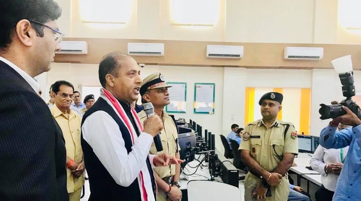 Jai Ram Thakur, Jaipur, Command Control Centre, Department of Information Technology, BTH Techno Hub, criminal activities, Rajasthan government