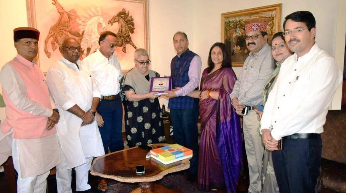 Atal Bihari Vajpayee, Namita Bhattacharya, Bharatiya Janata Party, Beas river, Himachal Pradesh, Jai Ram Thakur, Ramswaroop Sharma