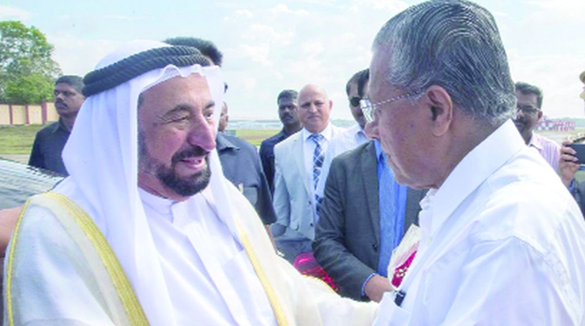 Kerala floods, Pinarayi Vijayan, Narendra Modi, United Arab Emirates, Sheikh Mohammed bin Rashid Al Maktoum, Distress Relief Fund, National Disaster Management Plan