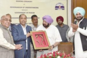 Punjab, HP sign MoU for Anandpur Sahib-Naina Devi ropeway
