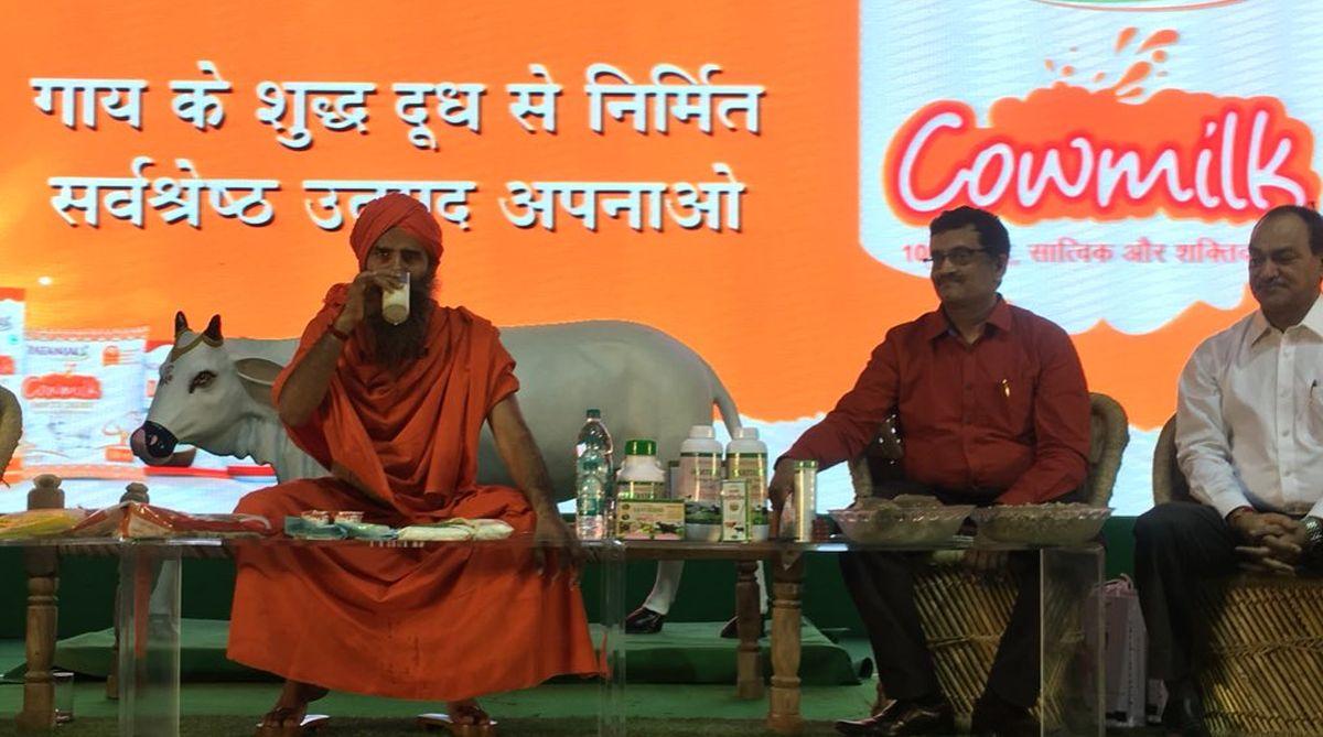 Patanjali Ayurved, Baba Ramdev, Patanjali cow milk