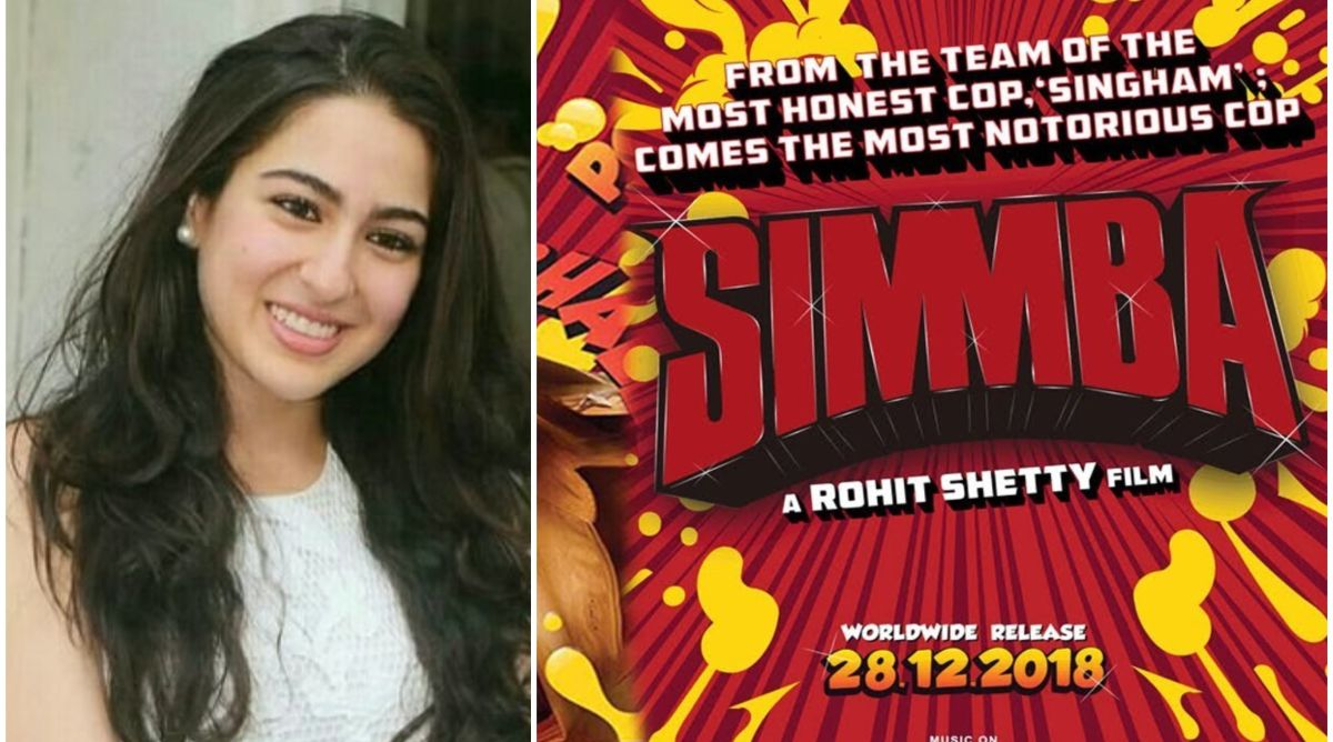 Sara Ali Khan's photo proves she is having fun on sets of Simmba