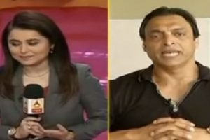 Watch | Shoaib Akhtar loses cool after anchor takes 'Swachh Bharat' jibe