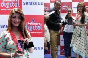 Bengali actress Srabanti Chatterjee promotes Samsung Galaxy Note 9