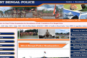 West Bengal Police Lady Constable exam 2018 on October 7 | Check more details here
