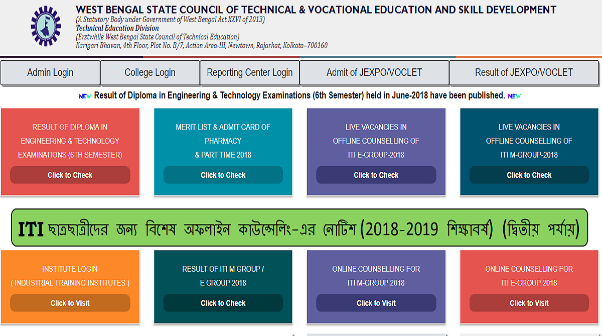 West Bengal STC result 2018