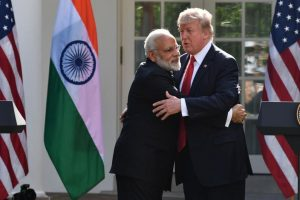 I love India, give my regards to my friend PM Modi: Trump to Sushma Swaraj