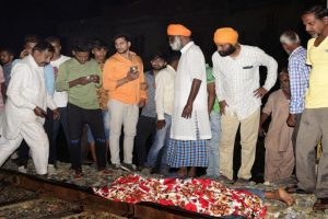 Amritsar train accident: Driver detained, says had been given green signal