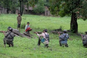 Maoists blow up railway tracks in Jharkhand; major accident averted