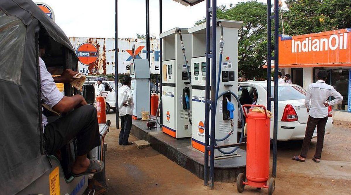 Delhi petrol pumps