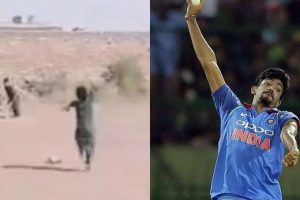 Watch | Jasprit Bumrah gets nostalgic after 5-year-old Pakistani kid copies his bowling action