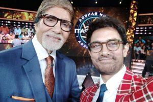 Thugs of Hindostan stars Aamir Khan, Amitabh Bachchan reunited on KBC