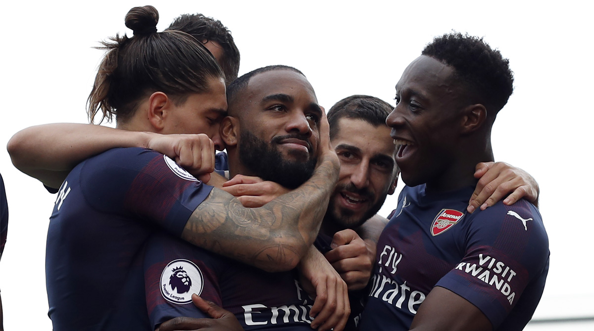 Lacazette reacts to Aubameyang comparisons to Arsenal legend