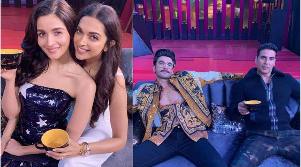Alia Bhatt, Deepika Padukone, Ranveer Singh, Akshay Kumar, Koffee With Karan