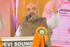 BJP stands firmly behind Ayyappa devotees: Amit Shah in Kerala