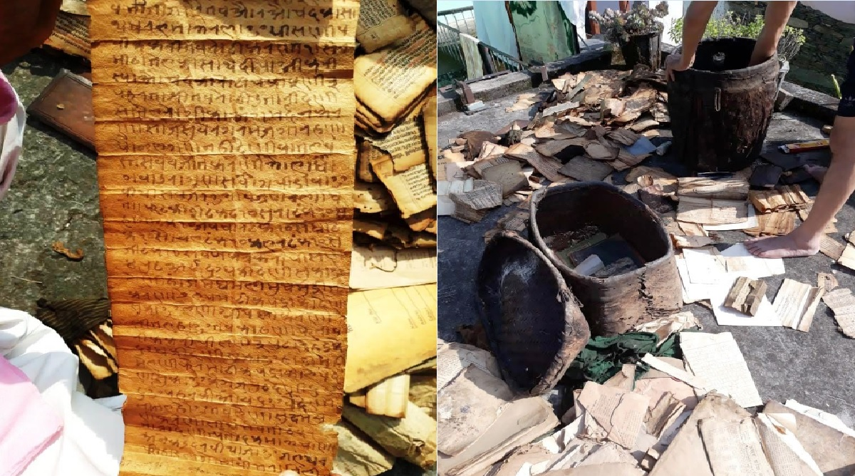 Ancient manuscripts found in remote Uttarakhand village thrill historians