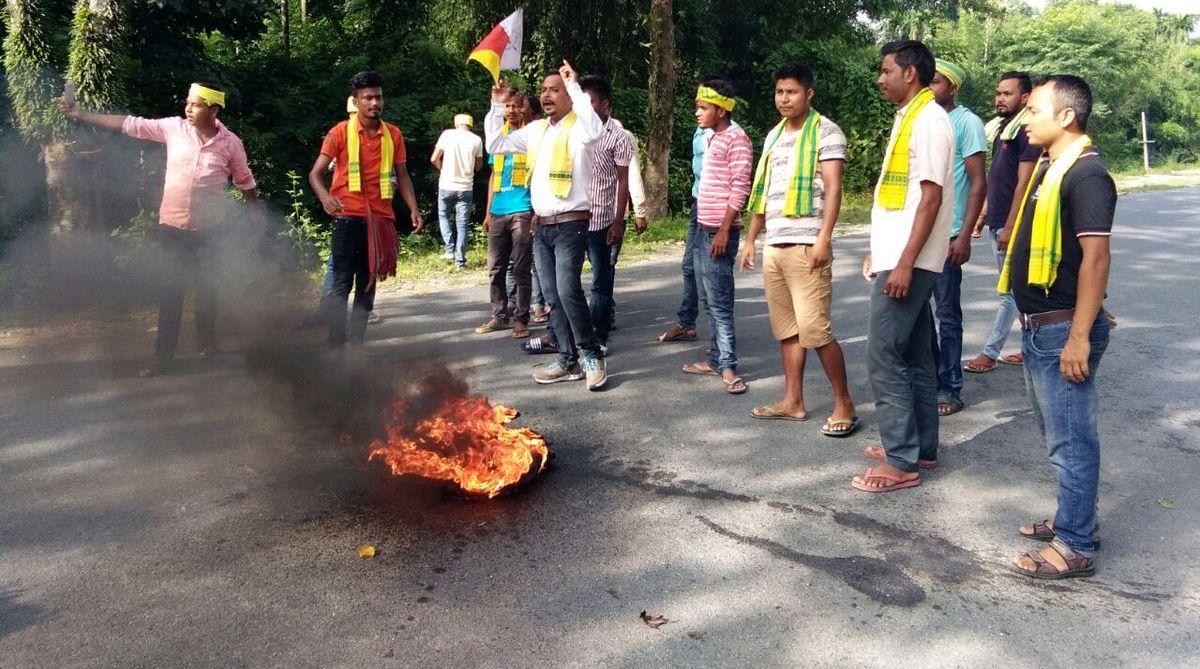 Assam bandh, Assam NRC protest, Citizenship Bill, Krishak Mukti Sangram Samiti