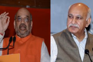 #MeToo: Amit Shah says not in position to comment on MJ Akbar
