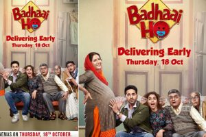 Ayushmann Khurrana, Sanya Malhotra's Badhaai Ho release date advanced