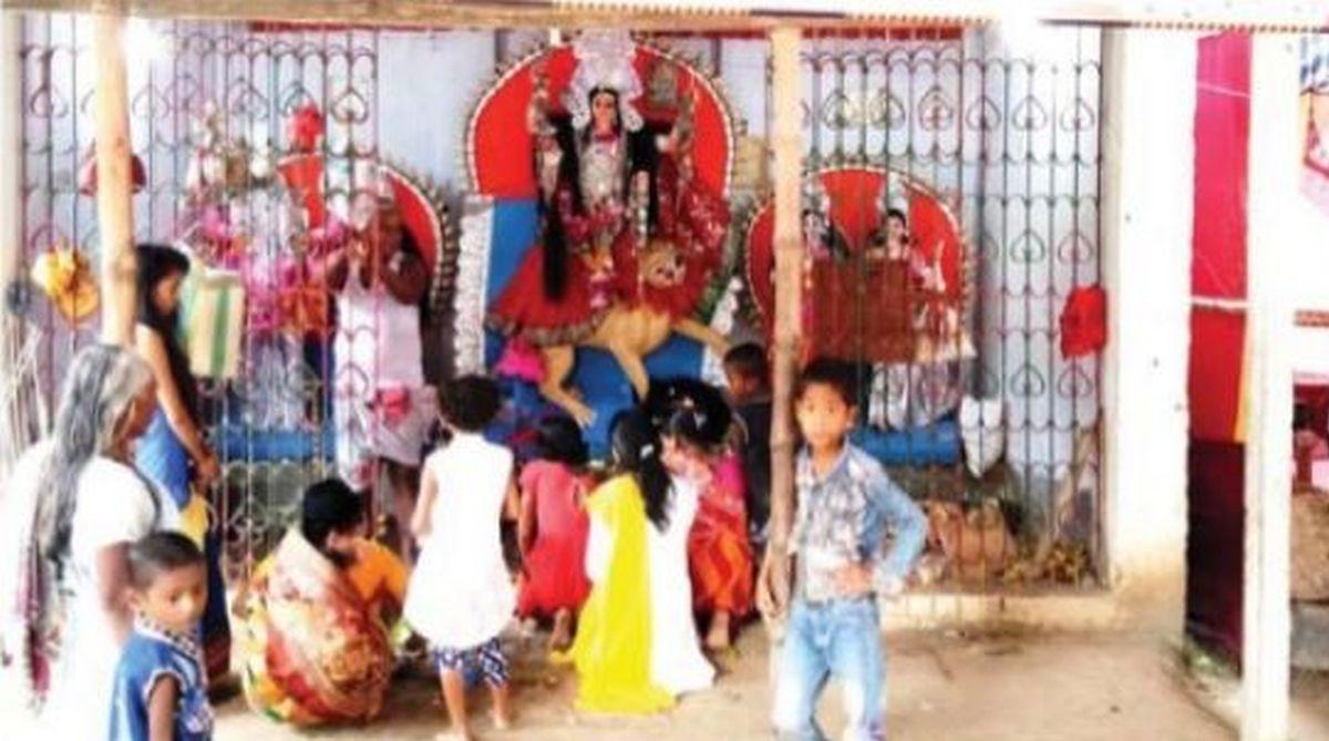 Balaichandi Durga Puja, Goddess Balaichandi, Dashami, Basudev Chakraborty, Durga puja