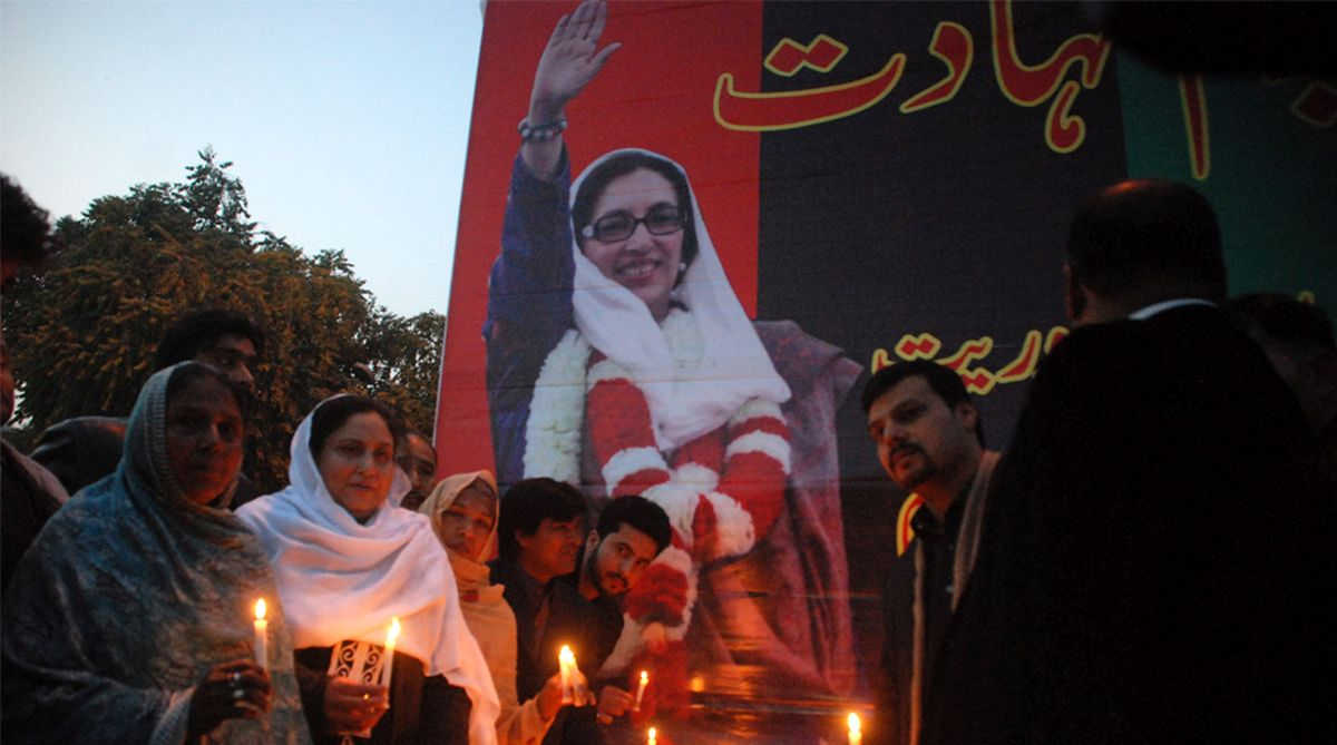 Benazir Bhutto, Bhutto murder, Pakistan Peoples Party (PPP), Rawalpindi's Liaquat Bagh, Pervez Musharraf, Bilawal Bhutto