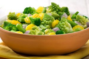 Eat boiled, blanched or steamed vegetables to lose weight and gain health