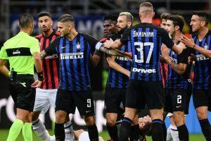 Last-gasp Icardi header grabs Inter derby spoils