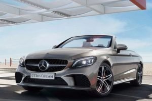 Mercedes-Benz C-Class Cabriolet launched at Rs 65.25 lakh; gets BSVI petrol engine