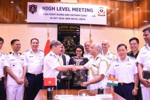 Indian, Vietnamese coast guards agree to strengthen mutual cooperation