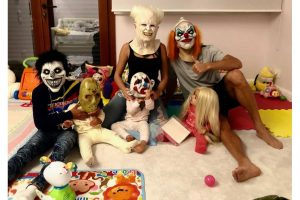 Here is how Cristiano Ronaldo is celebrating Halloween with his family