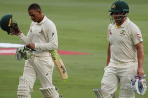 1st Test: Australia lose Finch before tea