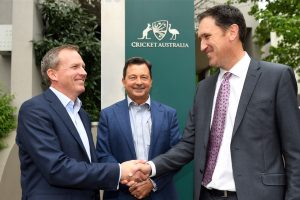 Cricket Australia boss James Sutherland replaced by inside Kevin Roberts
