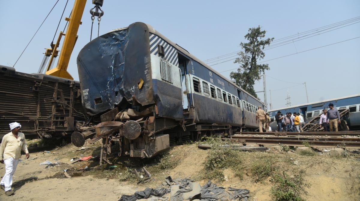 Farakka Express derailment, Indian Railways, UP derailment