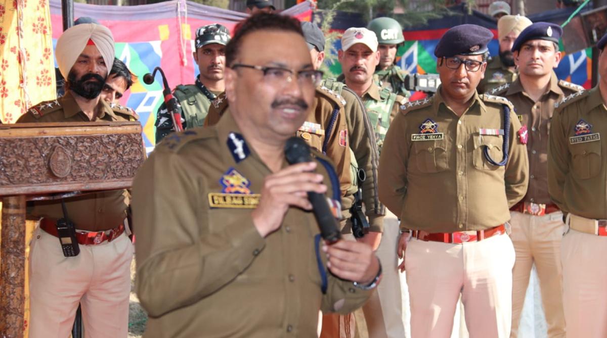 Dilbagh Singh, SP Vaid, Director General, Jammu and Kashmir, IPS officer, Satyapal Malik