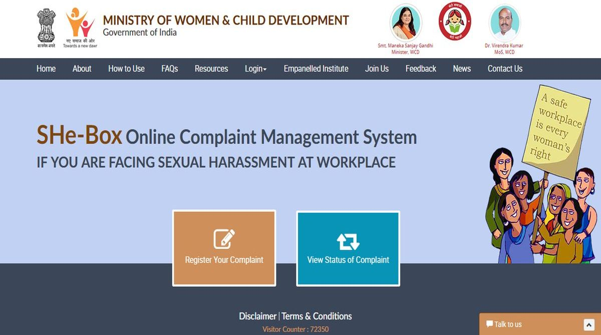 What is SHe-Box? Everything about govt portal for complaints of sexual harassment at work