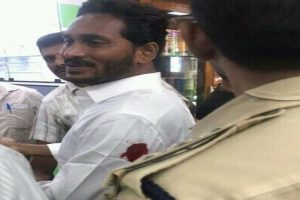 YSR Congress chief Jagan Reddy attacked at Vizag airport, canteen employee held