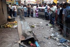 One dead in Kolkata blast, TMC leaders point fingers at RSS