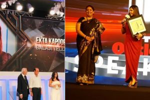 Ekta Kapoor on a winning spree