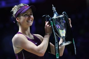Elina Svitolina wins WTA Finals in Singapore