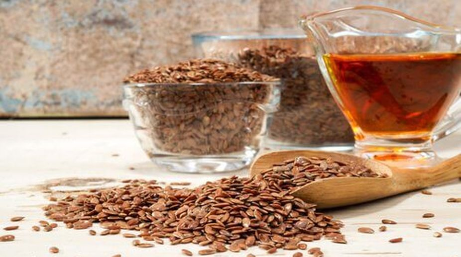 Flax seed water
