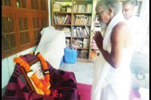 Drama over GD Agarwal's body