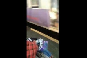 Alert passenger miraculously saves life of girl in Mumbai local