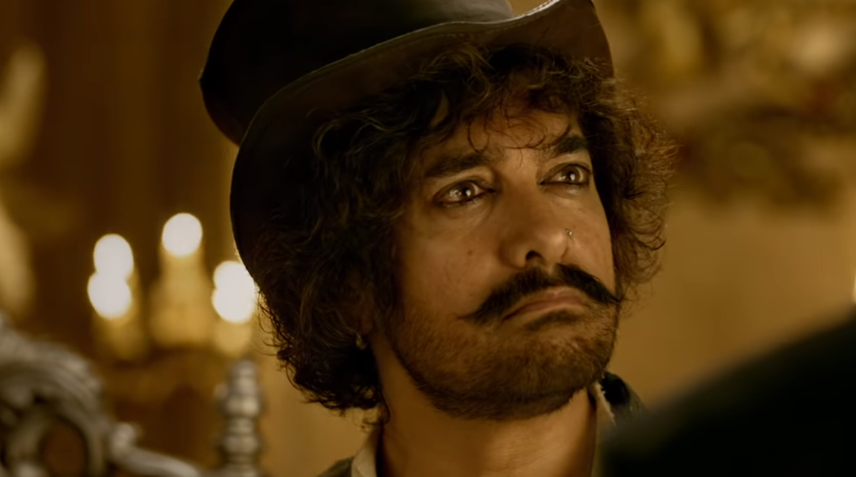 Guess who completed Aamir Khan's Thug look