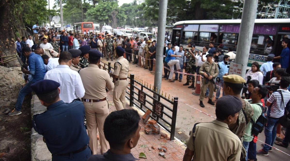 Injured, Assam blast, ULFA, Guwahati