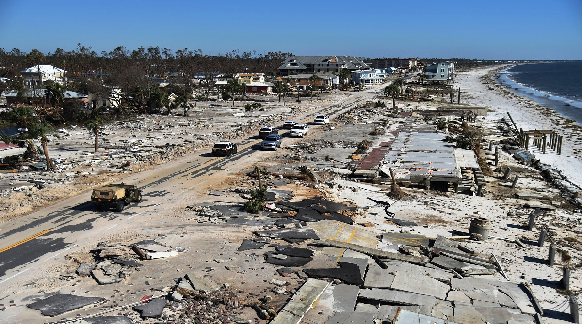 Hurricane Michael, United States, storms in Florida, Hurricane in US