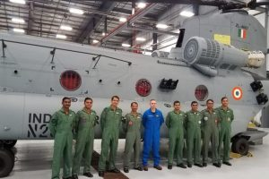 IAF pilots start training to operate Chinook helicopters