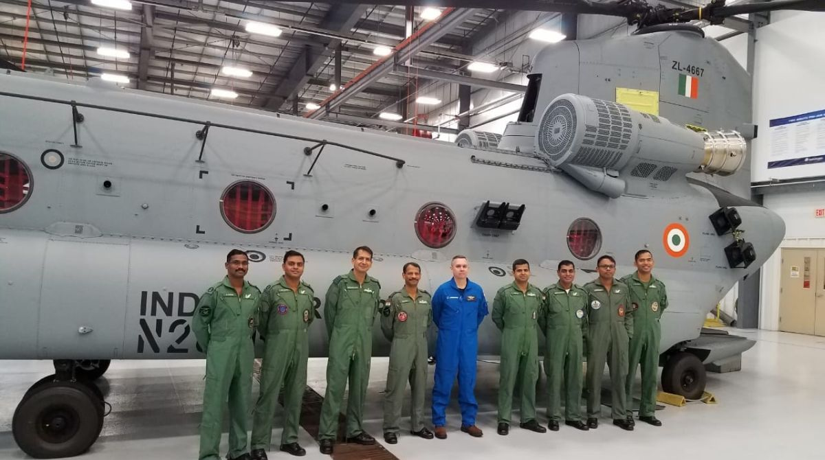 IAF pilots, Chinook helicopters, CH-47F Chinook, IAF pilots training
