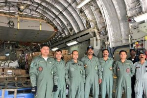 Indian Air Force embarks on relief mission to tsunami-hit Indonesia